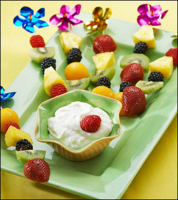 Cheesecake Fondue