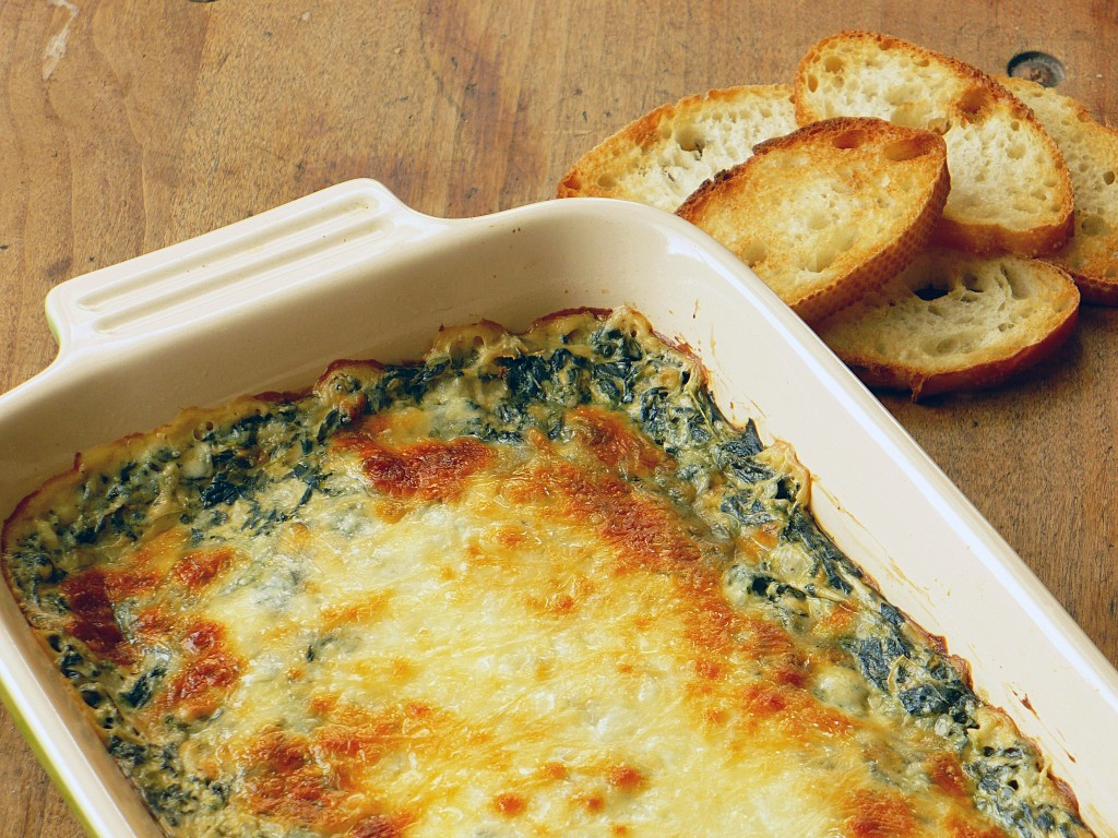 Baked Spinach Artichoke Dip - RN for Wellness