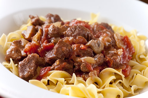 Swiss Pork Pasta