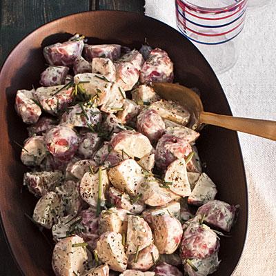 Fresh Herb Potato Salad - RN for Wellness
