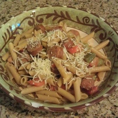 Spicy Rainbow Penne